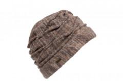 Oversize Herbst-Winter McBurn Recycelte Strickm/ütze Baumwollm/ütze Winterm/ütze Damenm/ütze Damen Oversize Made in Italy mit Futter